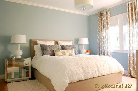 Спальня в светлых тонах фото дизайн