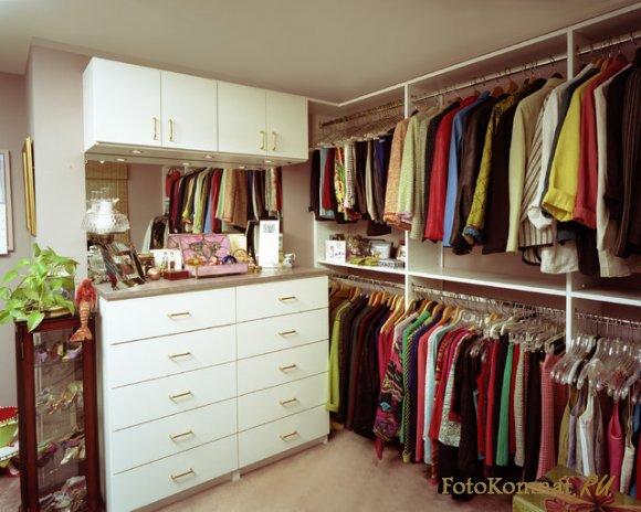 Зал с гардеробной дизайн фото